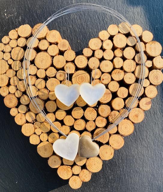 Un collier en nacre pour la Saint Valentin