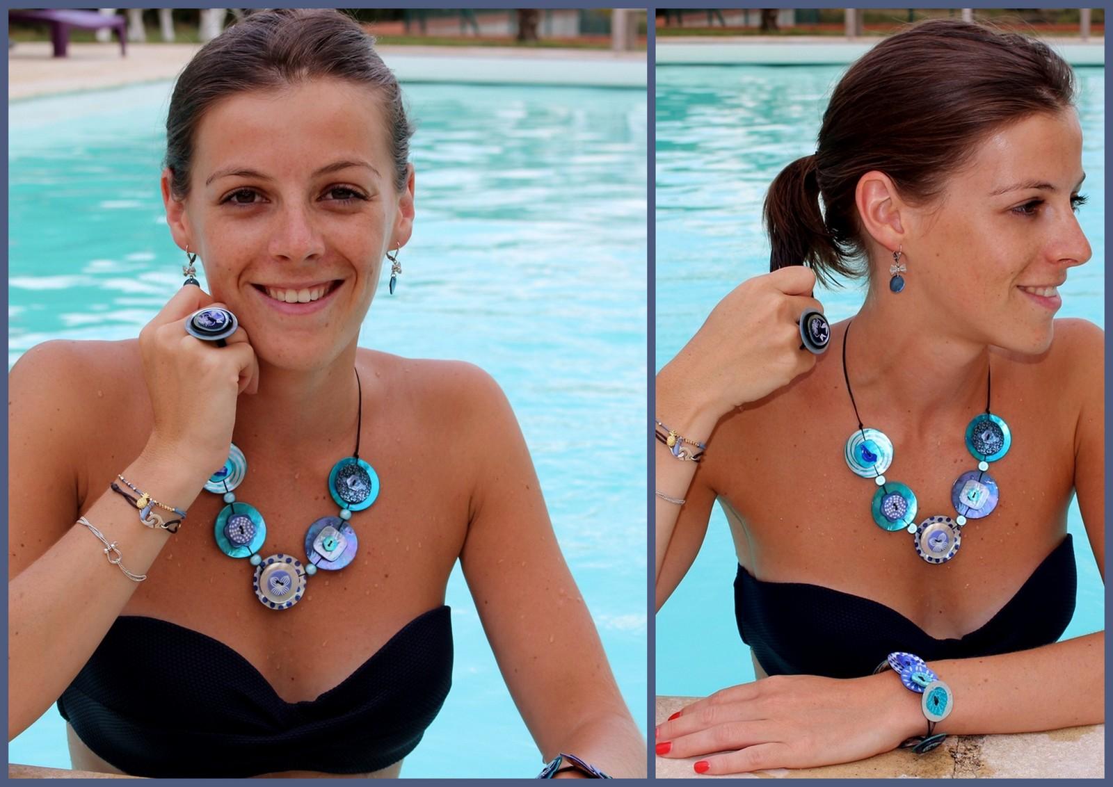 Lookbook Chill à la piscine