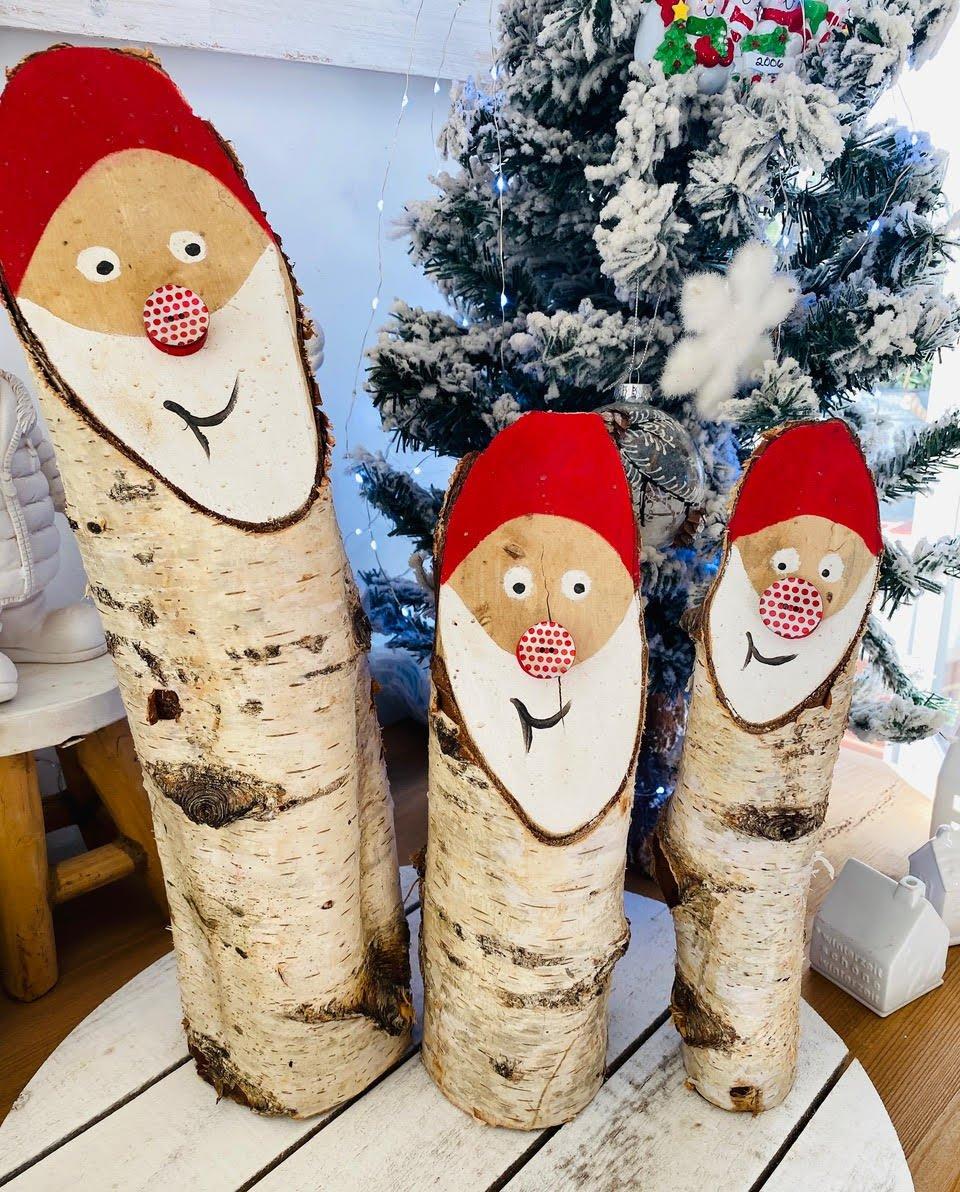 Idées déco de Noël avec des boutons de nacre !